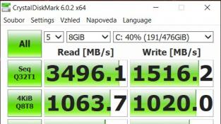 CrystalDiskMark (8GB)
