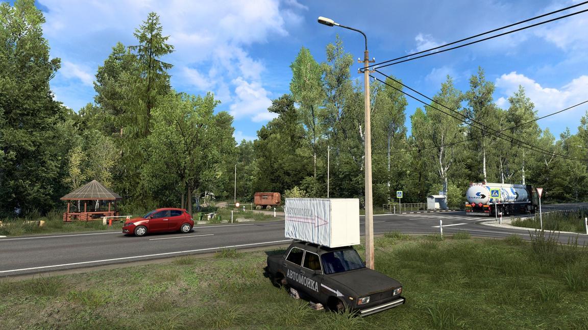 V Euro Truck Simulatoru 2 se časem podíváte do matičky Rusi. Ale jen její části