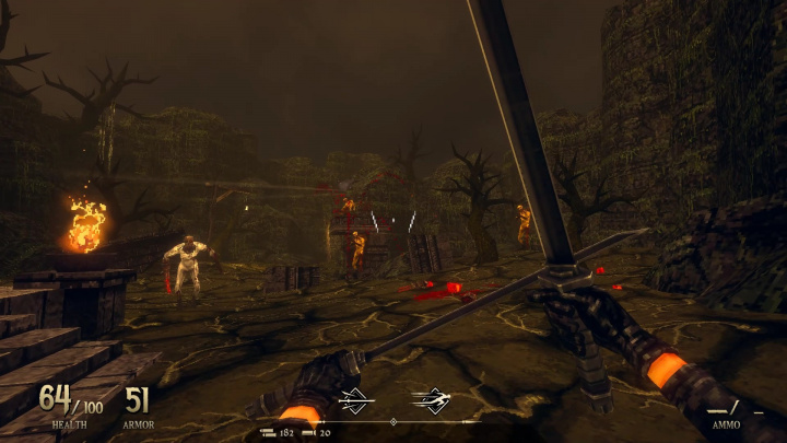 S Dread Templar zavzpomínáte na devadesátkové střílečky Doom, Quake či Hexen