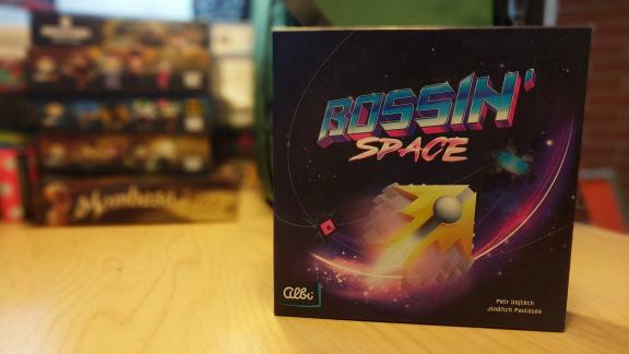 Deskovka Bossin' Space – recenze českých stolních Invaderů