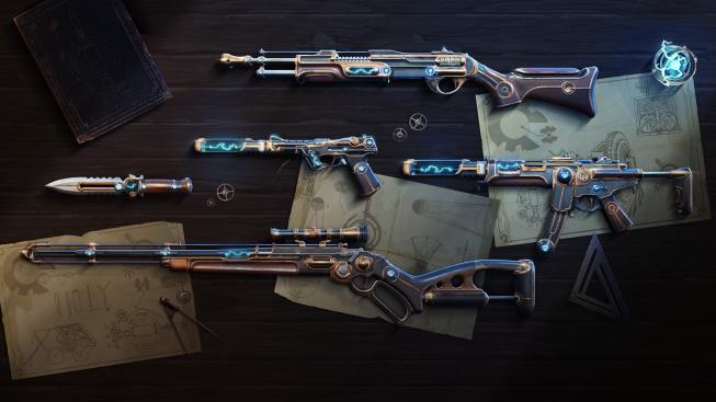 Valorant dostane nové zbraně ve stylu Megapunku