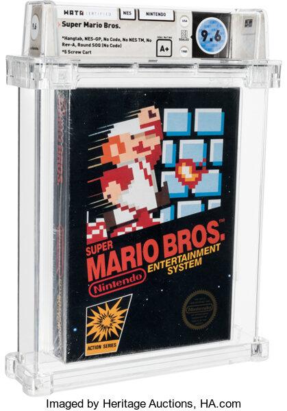 Super Mario Bros. aukce rekord