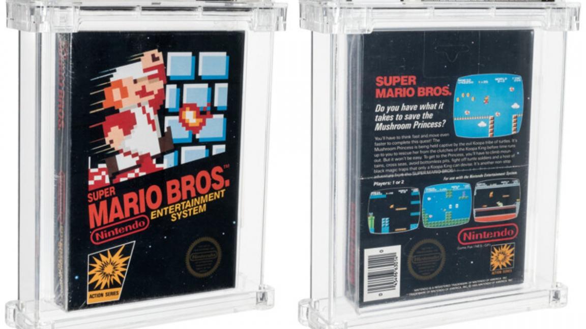 Kolik může stát jedna hra? Rekordní Super Mario Bros. byl vydražen za 14,5 milionu korun