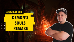 LongPlay - Demon's Souls Remake E03 - Tunely a pavouci