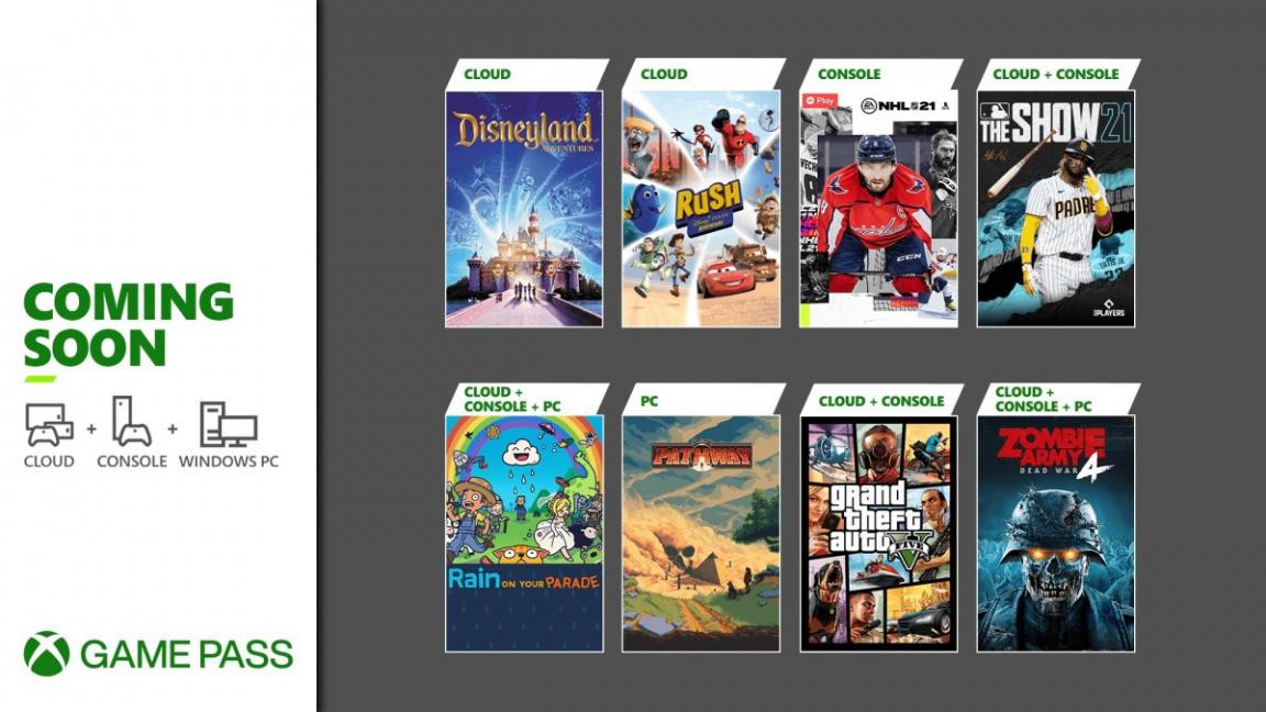 Co nového v Game Passu? GTA V, hokej, zombící a další
