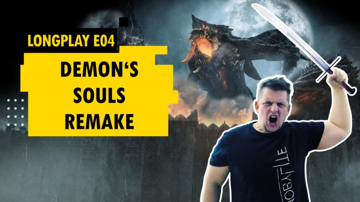 LongPlay - ničíme dračí bohy v remaku Demon's Souls