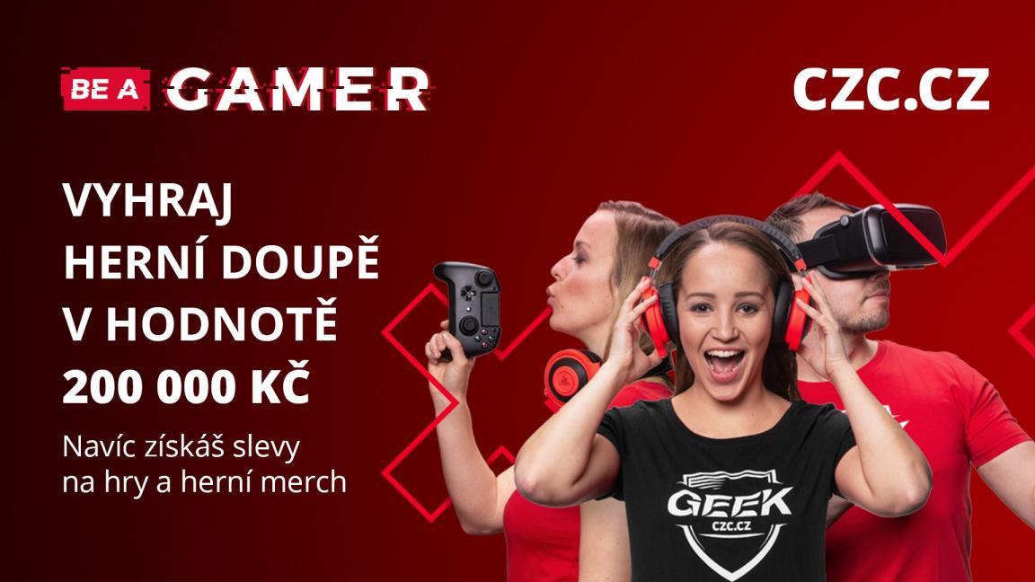 Soutěžte o speciální herní doupě za 200 tisíc v akci Be a Gamer na CZC.cz