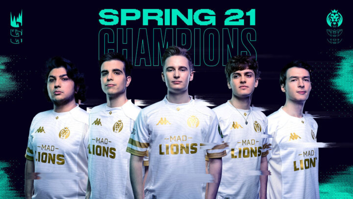 MAD Lions Sping 21 Champions