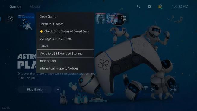 PS5 externí úložiště