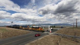Ve Wyomingu pro American Truck Simulator začnete pomáhat železnicím