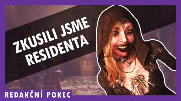 Procházíme prokletý zámek v Resident Evil Village – redakční pokec
