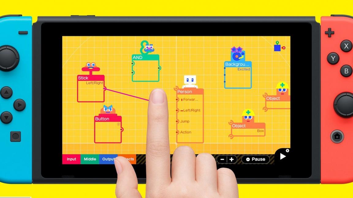 Game Builder Garage – recenze tvůrčí hry, která není hrou