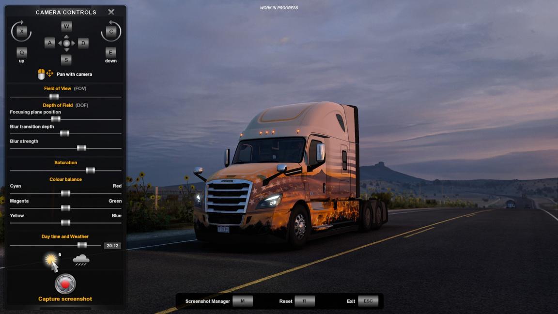 Konec hledání ideálních podmínek. Foto mód v Truck Simulatorech dostane skvělou funkci
