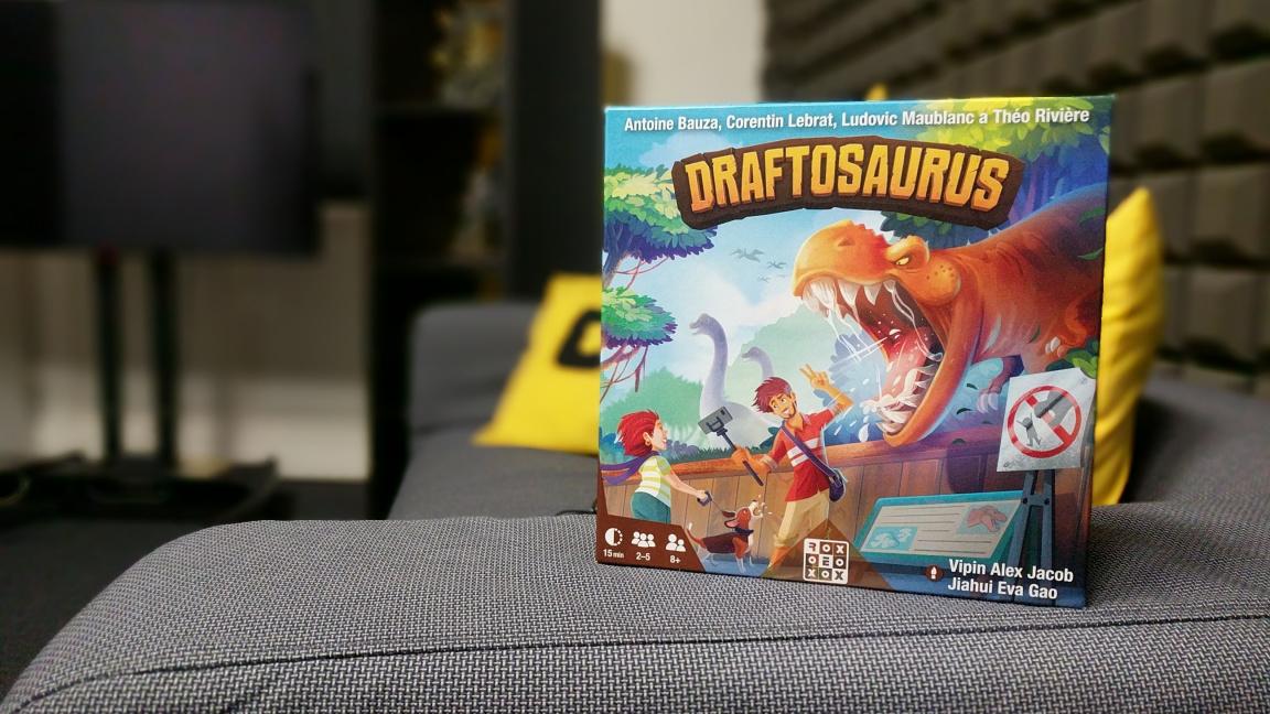 Deskovka Draftosaurus – recenze draftu bez karet