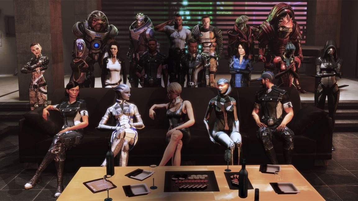 Jak se chystáme hrát Mass Effect Legendary Edition?