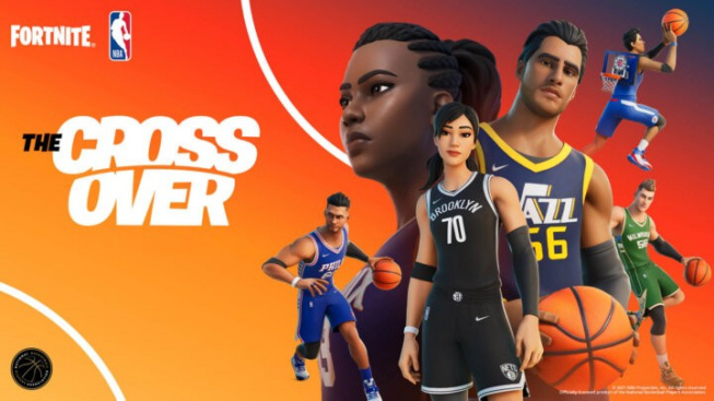 Fortnite se spojuje s NBA a my se tak dočkáme týmových dresů přímo ve hře