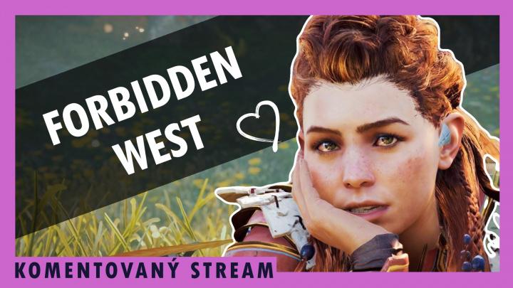 Sledujte komentovaný stream o Horizon Forbidden West