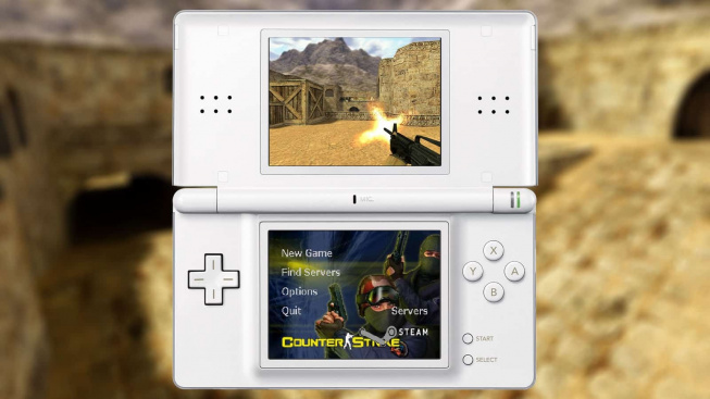 Fanoušek Counter-Striku vytvořil speciální verzi této legendární střílečky pro Nintendo DS