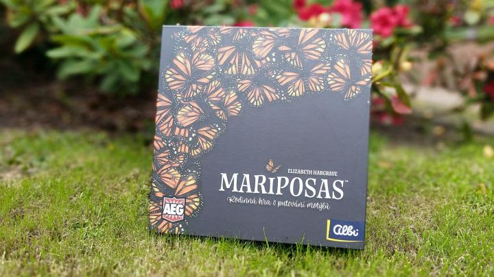 Deskovka Mariposas – recenze nové hry od autorky Na křídlech