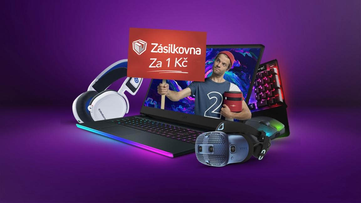 Pořiďte si gaming výbavu na CZC.cz. V červnu je doprava přes Zásilkovnu jen za 1 Kč