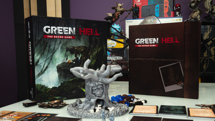 Blíží se deskovka Green Hell inspirovaná stejnojmenným survivalem