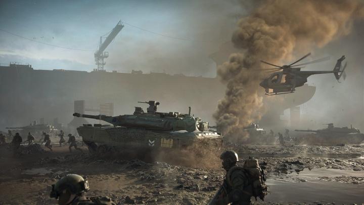 Battlefield 2042 dle tvůrců není politický, do očí bijící realitě navzdory