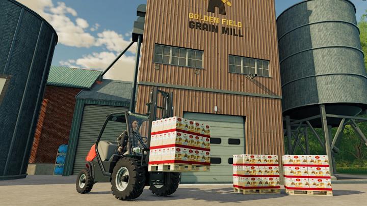 Ve Farming Simulator 22 budete řešit výrobu chleba od obilí přes mouku