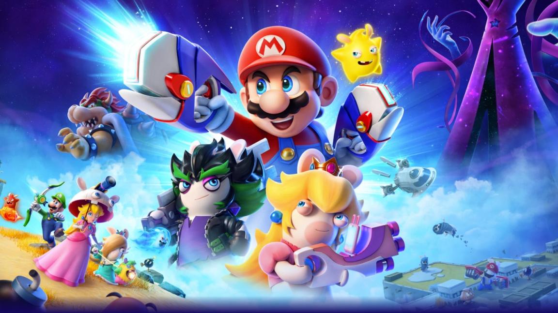 Brilantní tahovka Mario + Rabbids Kingdom Battle dostane pokračování Sparks of Hope
