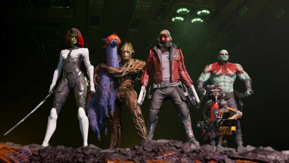 V Guardians of the Galaxy bude osmdesátková hudba součástí hratelnosti