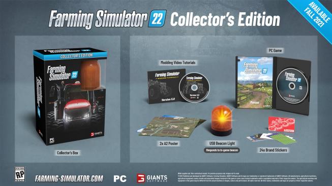 Farming Simulator 22 sběratelská edice