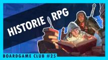 BoardGame Club #25 o historii a současné podobě her na hrdiny