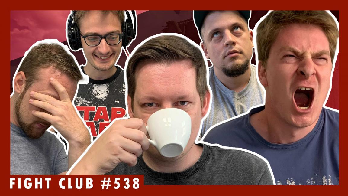 Sledujte Fight Club #538 o tom, jak vypadá běžný den v redakci Games