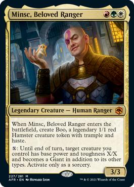 Magic: The Gathering Minsc