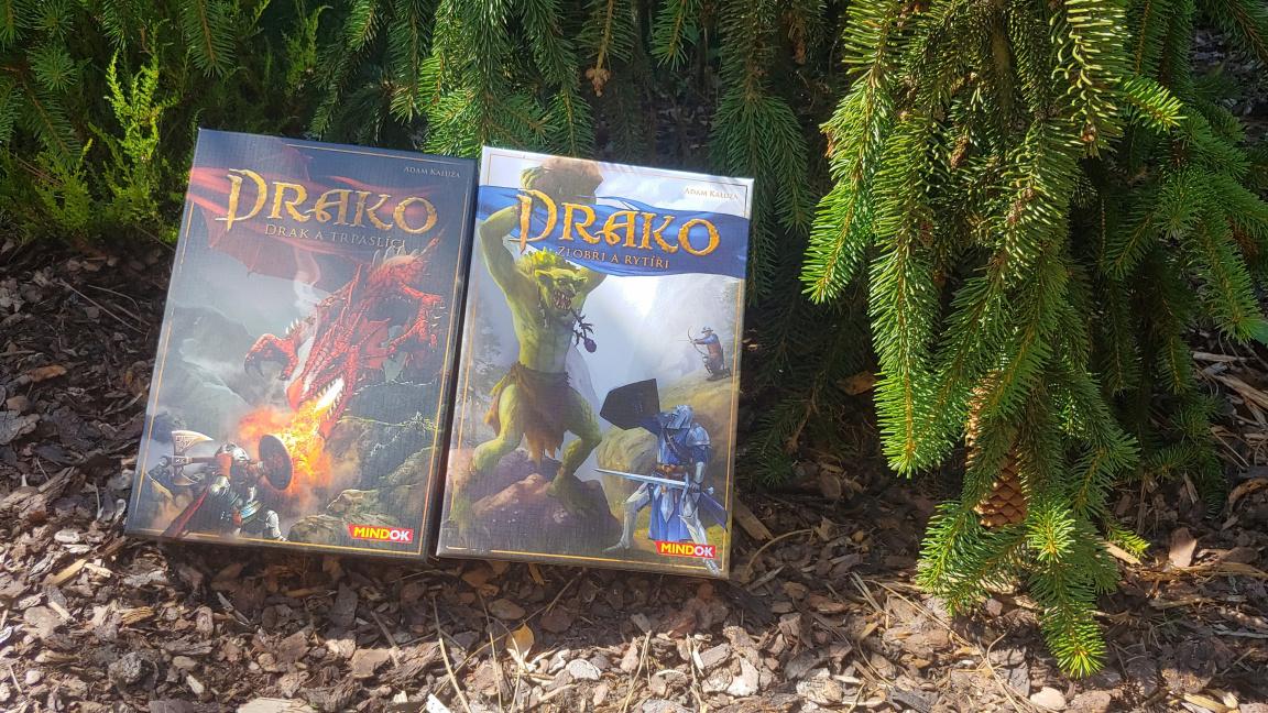 Deskovky Drako – recenze dvojice asymetrických duelů