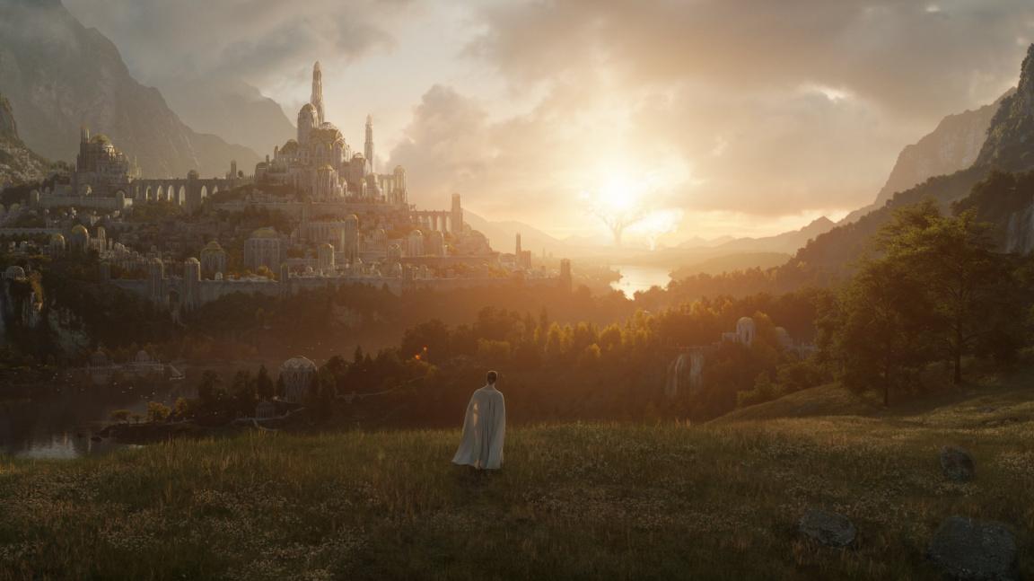 Víme, kdy vyjde seriál Pán prstenů. Nový obrázek ukazuje nádherný Valinor