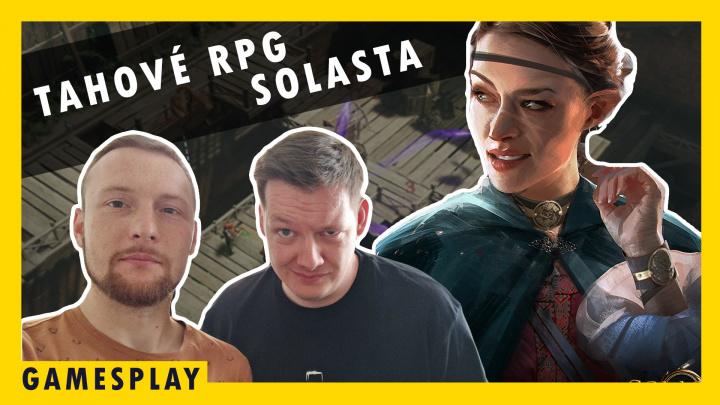 GamesPlay - hrajeme DnD tahové RPG Solasta: Crown of the Magister