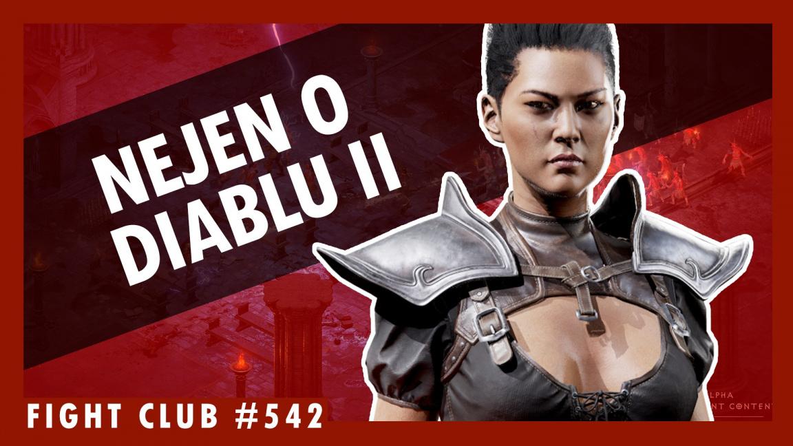 Sledujte Fight Club #542 o Diablu II a dalších tématech