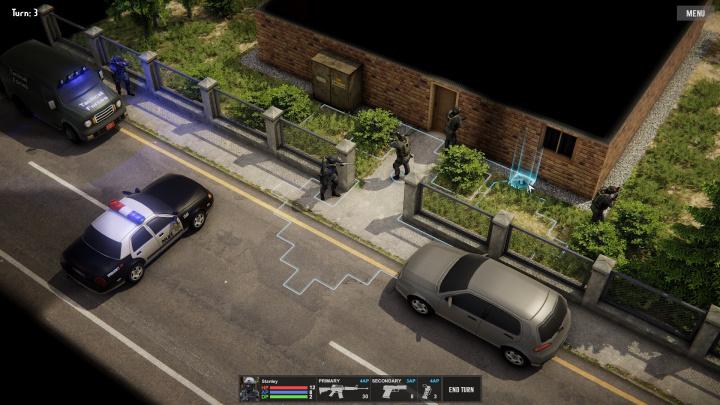 Tactical Combat Department – Záběry z hraní