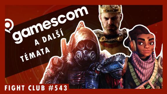 Sledujte Fight Club #543 o Gamescomu 2021 a dalších tématech