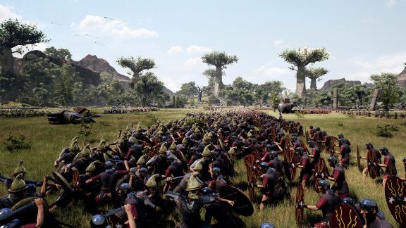Konkurence Total Waru? Roman Empire Wars z vás udělají velitele obřích legií