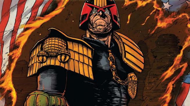 Komiksový tvrďák se chystá do Warzone. Judge Dredd bude soudit a odsuzovat na bojišti