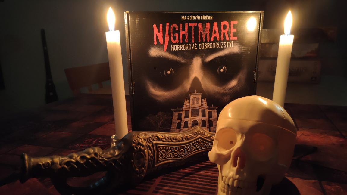 Deskovka Nightmare – recenze unikátního atmosférického zážitku, na který nezapomenete