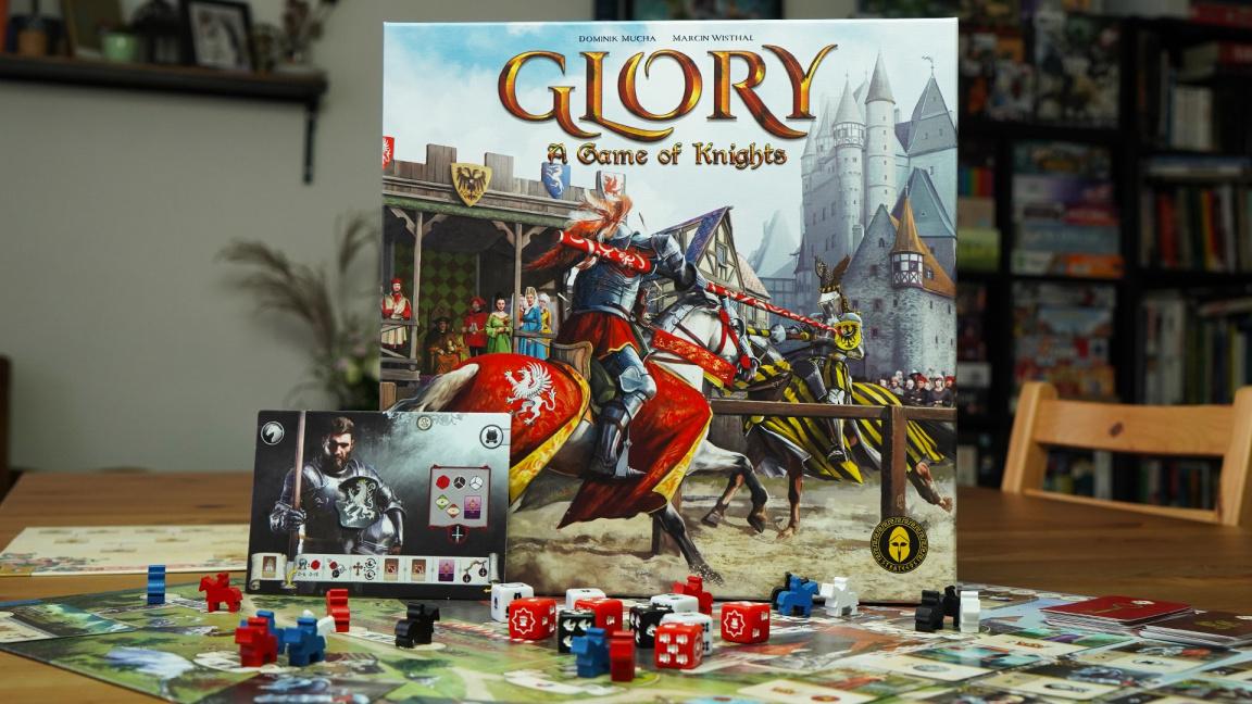Deskovka Glory: A Game of Knights – videorecenze plnotučného rytířského klání