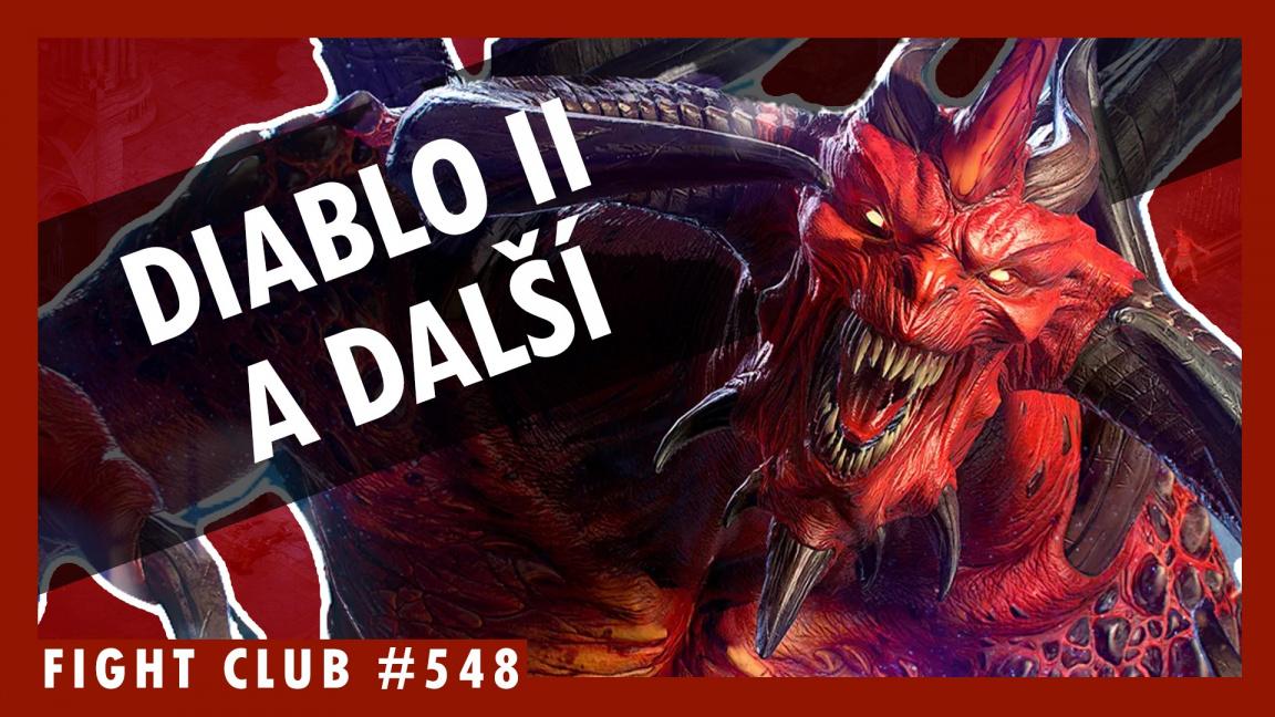 Sledujte Fight Club #548 o remaku Diabla II