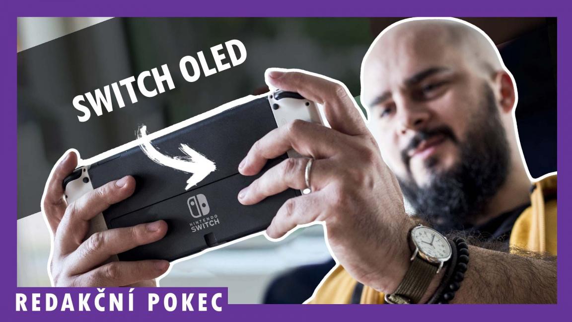Nintendo Switch – OLED Model – redakční pokec
