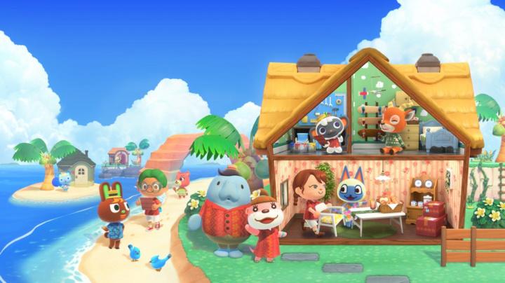 Animal Crossing: New Horizons přechází na prémiový model s rozšířením Happy Home Paradise