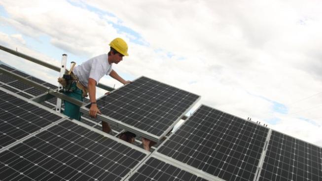 Solární elektrárna, Foto: HiTechSolar