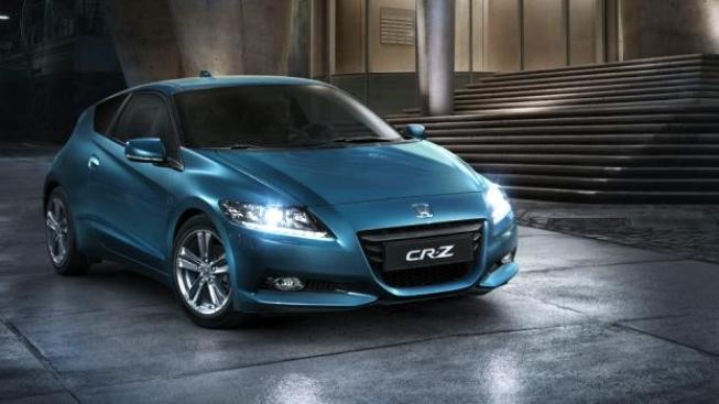 Hybridní automobil Honda CR-Z je již ve výrobě, plný elektromobil se chystá. Foto: Honda