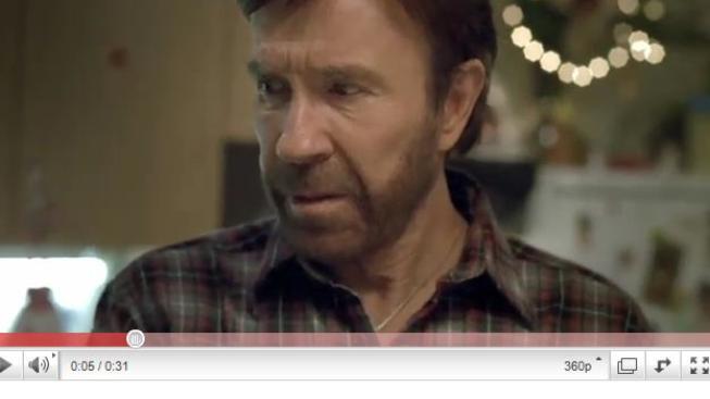 Hlasujte pro reklamu s Chuckem Norrisem, která se vám líbí, Foto: T-mobile
