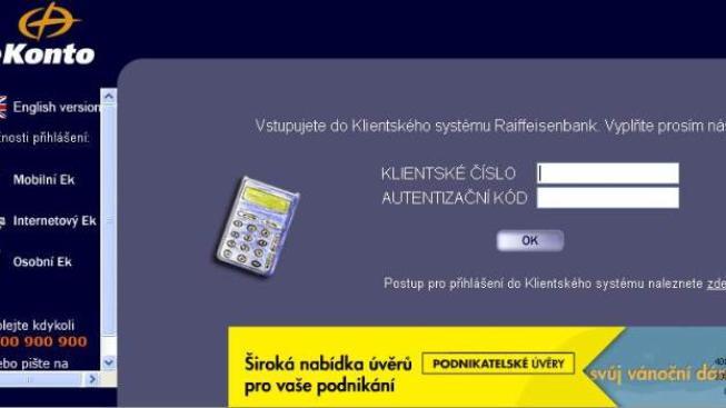 Phishing je v poslední době nejčastější formou útoku na bankovní účty klientů bank, Foto: RB
